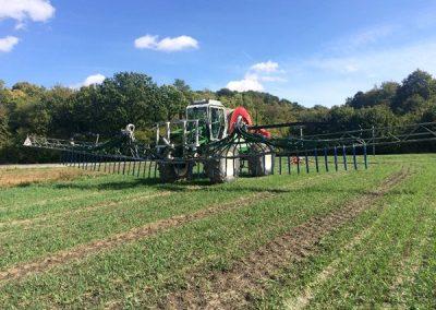 epandage travaux agricole